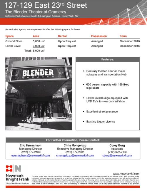 Microsoft PowerPoint - Blender theater.ppt