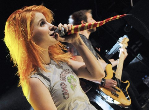 Hayley Williams' Vocal Cords Are Feeling Misery Right Now