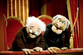 "Statler And Waldorf Prepare Their Best Balcony Critiques For ""Muppets Remastered"""