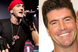 Simon Cowell Invites Eminem to Judge 'The X Factor' Because Hey, Why Not