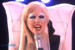 Lady Gaga Does 'Ellen' On Black Friday