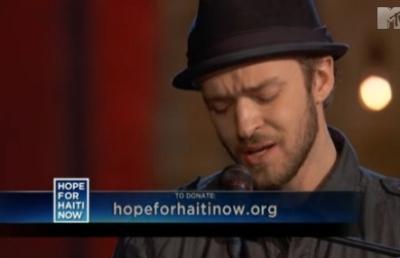 Justin Timberlake's ... Justin Timberlake Hallelujah