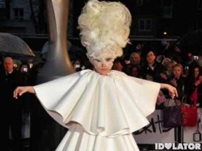 Lady Gaga Brit Awards 2010 Brits