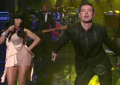 Nicki Minaj Robin Thicke