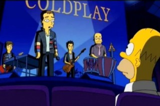 Coldplay's Chris Martin Gets Simpsonized