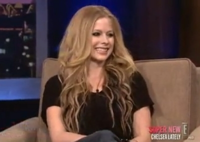 Avril Lavigne Chelsea lately Handler