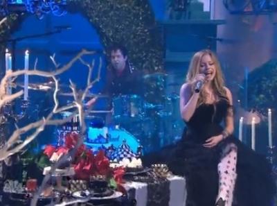 Avril Lavigne Jay Leno Alice