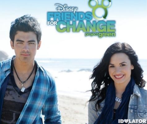 Joe Jonas Demi Lovato Make A Wave Music Video