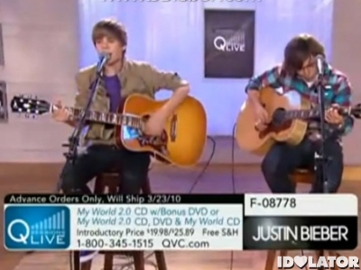 Justin Bieber QVC One Less Lonely Girl