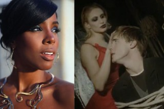 "Kelly Rowland And Michael Buble Vs. Take That: ""How Deep Is Your Love"""