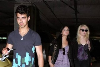 PHOTOS: Demi Lovato And Joe Jonas Are Going To The Chapel