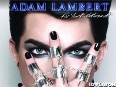 Adam Lambert For Your Entertainment UK version