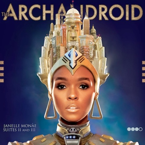 Janelle Monae The ArchAndroid album cover