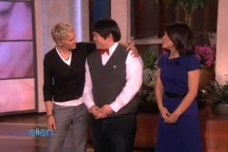 Lin Yu Chun Performs On 'Ellen' (And Gets One Step Closer To Simon Cowell)