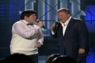 """Lin Yu Chun And William Shatner's """"Total Eclipse Of The Heart"""" The Best Duet Of The Decade And It's Only 2010"""