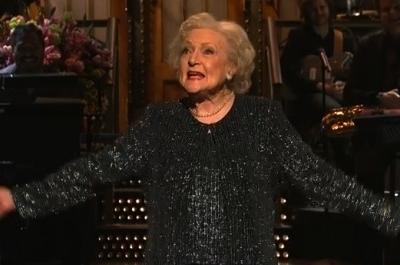 Betty White SNL Jay-Z