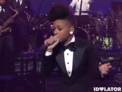 Janelle Monae Tightrope Late Show with David Letterman