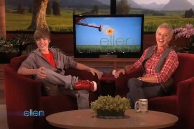 Justin Bieber The Ellen DeGeneres Show