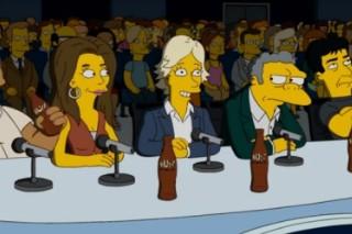 'American Idol' Judges (And Ryan!) Get Simpsonized