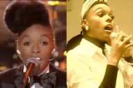 Janelle Monae Tightropes On 'Lopez Tonight' And Jams With Of Montreal