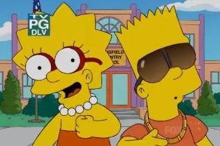 """Ke$ha's """"Tik Tok"""" Gets Simpsonized"""