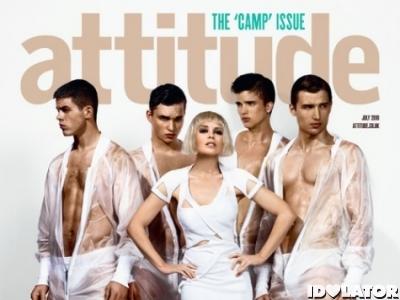 Attitude Kylie Minogue July 2010 cover Aphrodite