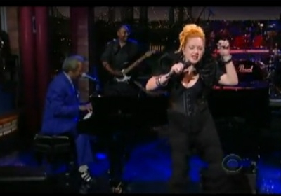 Cyndi Lauper Late Show with David Letterman Early In The Mornin'