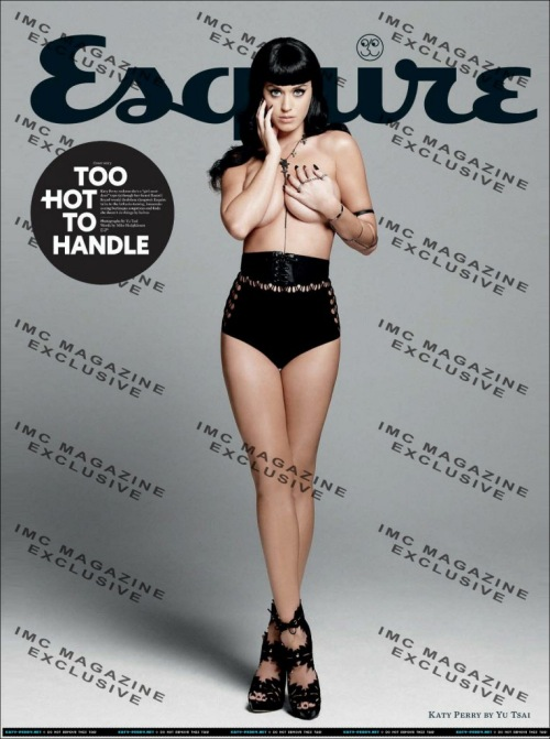 Katy Perry Gropes Herself On The Cover Of 'Esquire'