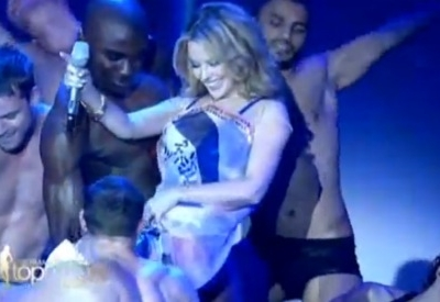 Kylie Minogue All The Lovers Germany's Next Top Model Aphrodite
