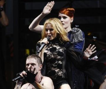 Kylie Minogue Scissor Sisters Glastonbury