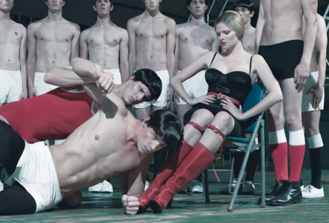 Steven Klein W shoot Alejandro video Lady Gaga