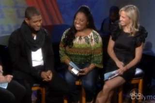 Usher Gives The Ladies Of 'The View' Something To Scream About