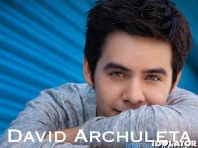 David Archuleta Something 'Bout Love single cover art