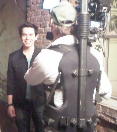 David Archuleta Something 'Bout Love video shoot 2