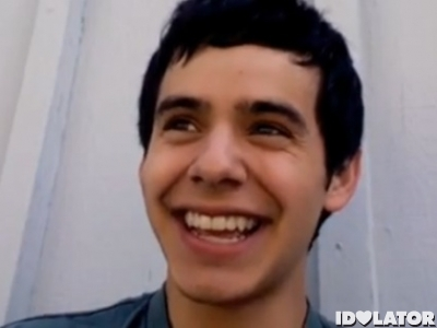 David Archuleta video blog