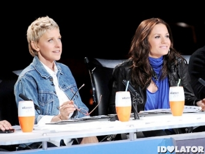 Ellen DeGeneres Kara DioGuardi American Idol fired leave leaving left