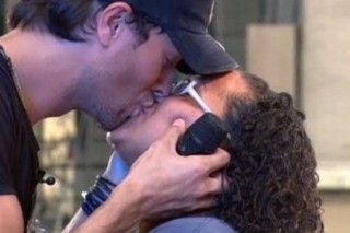 Enrique Iglesias Puckers Up On The 'Today Show' And Performs With Pitbull