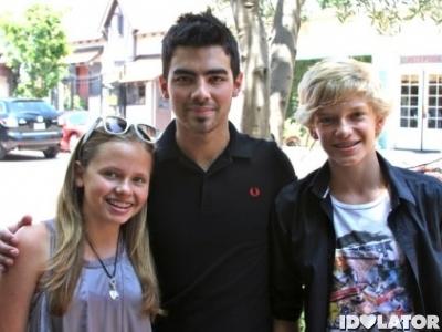 Joe Jonas Cody Simpson Alli Simpson