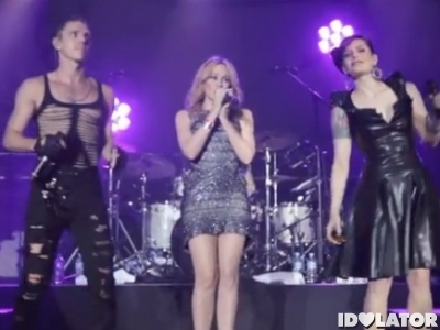Kylie Minogue Scissor Sisters All The Lovers Melbourne