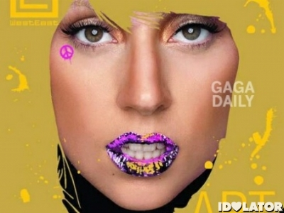 Lady Gaga WestEast magazine cover 2010 crop