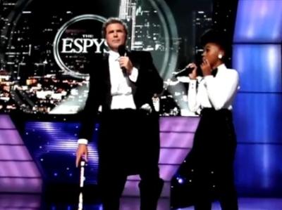 Will Ferrell Janelle Monae Jeff Vuvuzela ESPY Awards