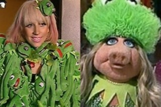 Did Lady Gaga Steal Her Style From Miss Piggy?