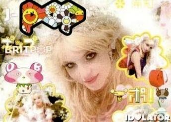 Britney Spears Pop magazine manga Japanese crop