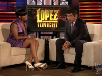 Fantasia Barrino George Lopez Tonight Back To Me suicide interview bittersweet