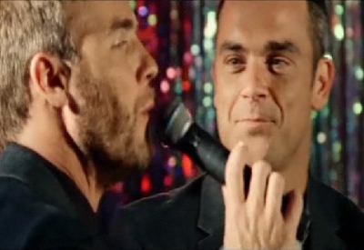 Gary Barlow Robbie WIlliams Shame music video