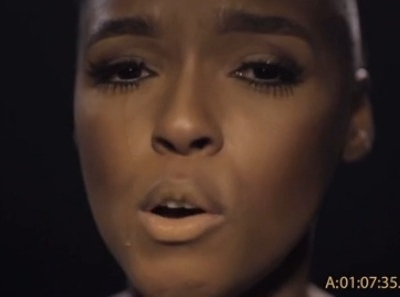 Janelle Monae Cold War music video tears crying