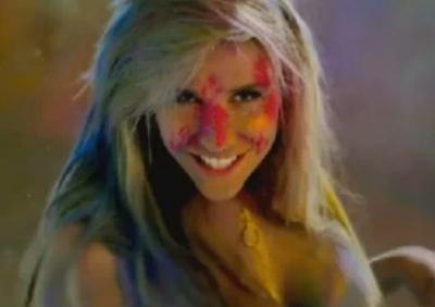 Ke$ha Take It Off music video glitter Animal