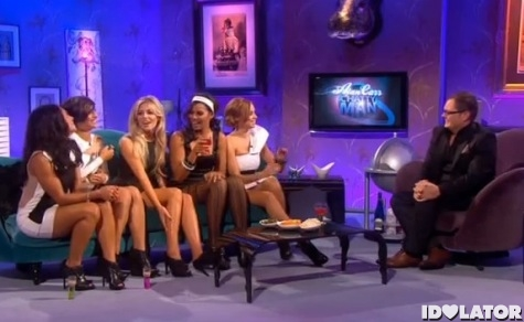 The Saturdays Alan Carr Chatty man