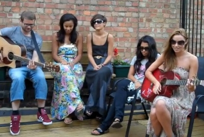 The Saturdays Justin Bieber cover Baby