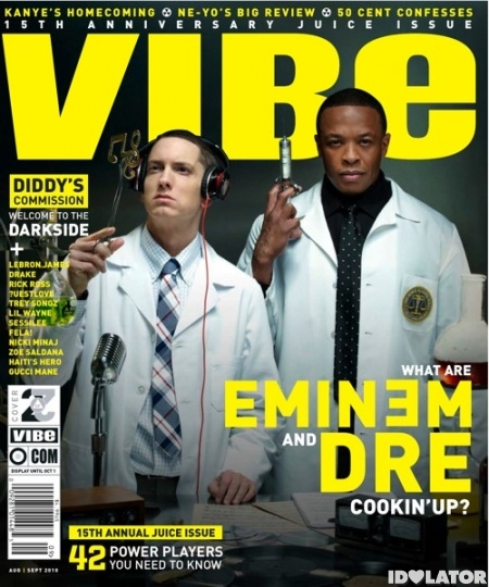 Eminem Dr. Dre VIBE
